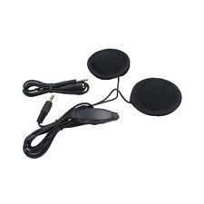 Motorrad Helm Interphone Mic/Kopfhörer Lautsprecher Headset für MP3 iPod+Kabel