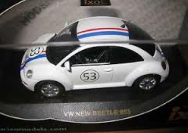 IXO MOC015 VW New BEETLE HERBIE diecast model rally car no. 53 Herbie 1 43rd