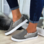 Fashion-Women-Casual-Hollow-Out-Sneakers-Platform-Flat-Rhinestone-Snakeskin-Shoe thumbnail 14