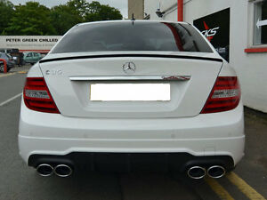Details about Mercedes AMG C63 W204 C Class Diffuser C63 Diffuser Coupe  models from 04/2011