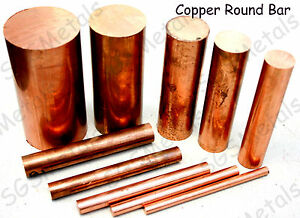 Copper-Round-Bar-Rod-C101-6mm-50mm-Diameter-Milling-Machine-Lathe-Drill