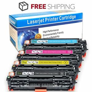 4PK-CF380A-Color-Toner-Cartridge-Set-For-HP-312A-LaserJet-Pro-MFP-M476dn-M476nw