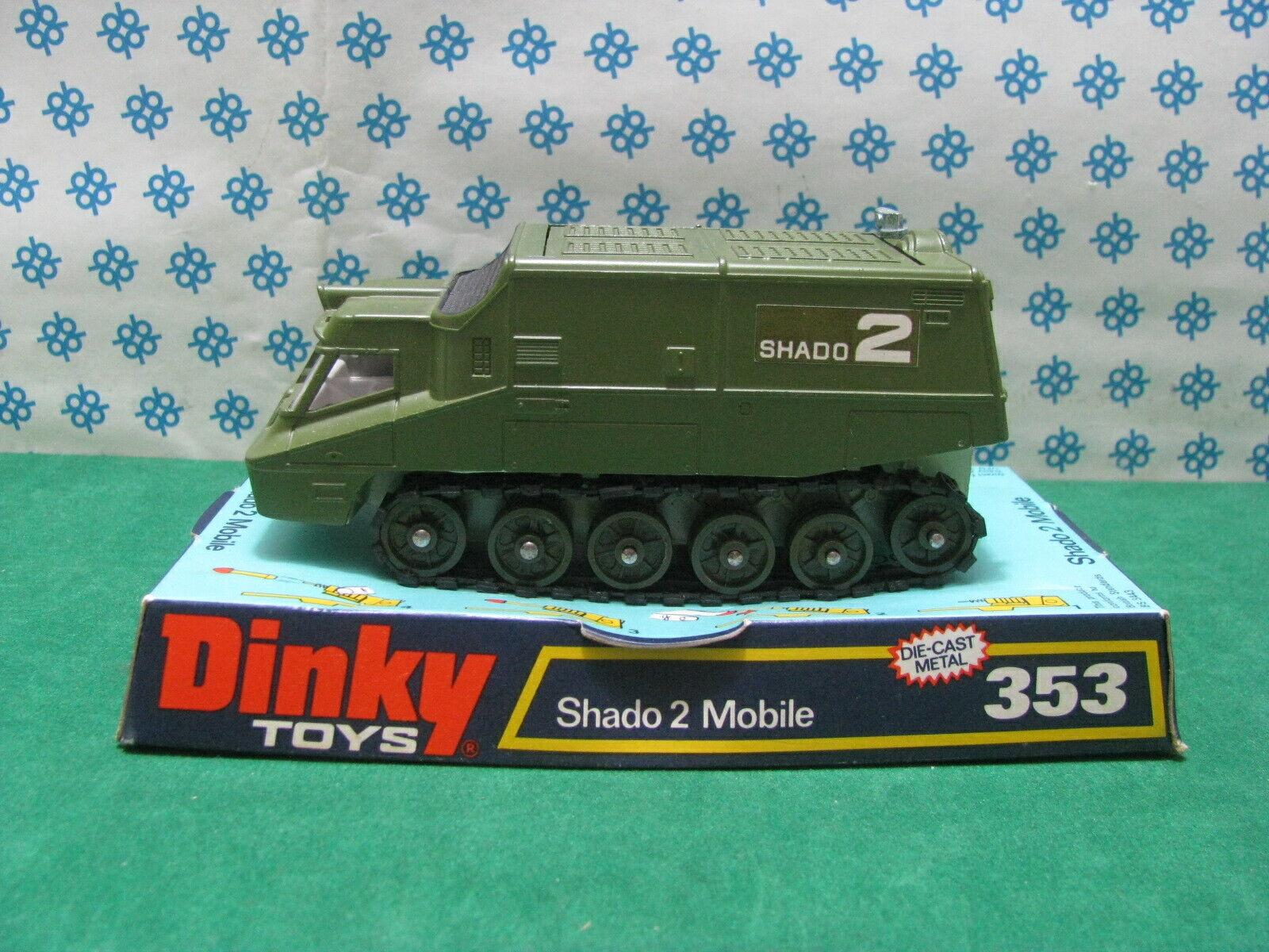 Vintage - Shado 2 Mobile UFO - Dinky Toys 353 Gerry Anderson - MIB