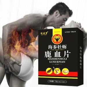 Sea-Cucumber-Oyster-Deer-Blood-Tablet-Male-Sexual-Enhancement-Pills-12-Tabl-E7K7