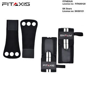 Weightlifting-Grip-3-Hole-Integrated-Wrist-Wrap