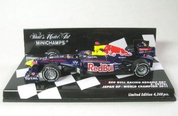 Rosso Bull Racing Renault rb7 n. 1 pag. ciabatta Giappone GP World Champion 2011