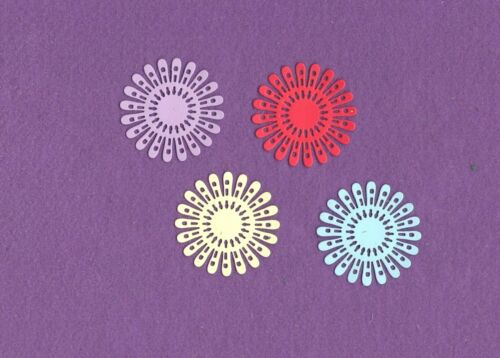 FLOWER # 22 die cuts scrapbook cards