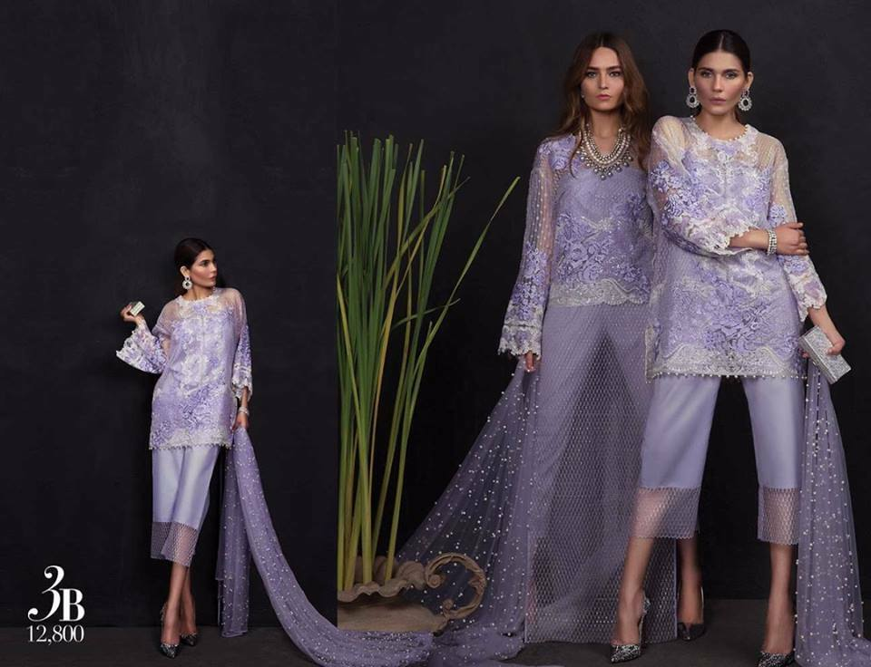 Sana Safinaz Luxury Collection Design 3B