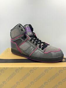 new style df7d9 3f5c7 Image is loading NIB-Osiris-NYC-83-Slim-ULT-Girls-Sneakers-