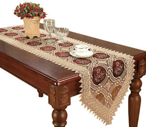 Vintage-Lace-Table-Runners-Dresser-Scarves-Victoria-Doily-Runners-Burgundy