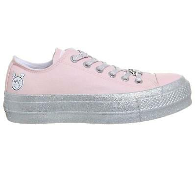 NIB CONVERSE x MILEY CYRUS CT LIFT OX 562237C Pink LOW TOP SNEAKERS 8 39 | eBay