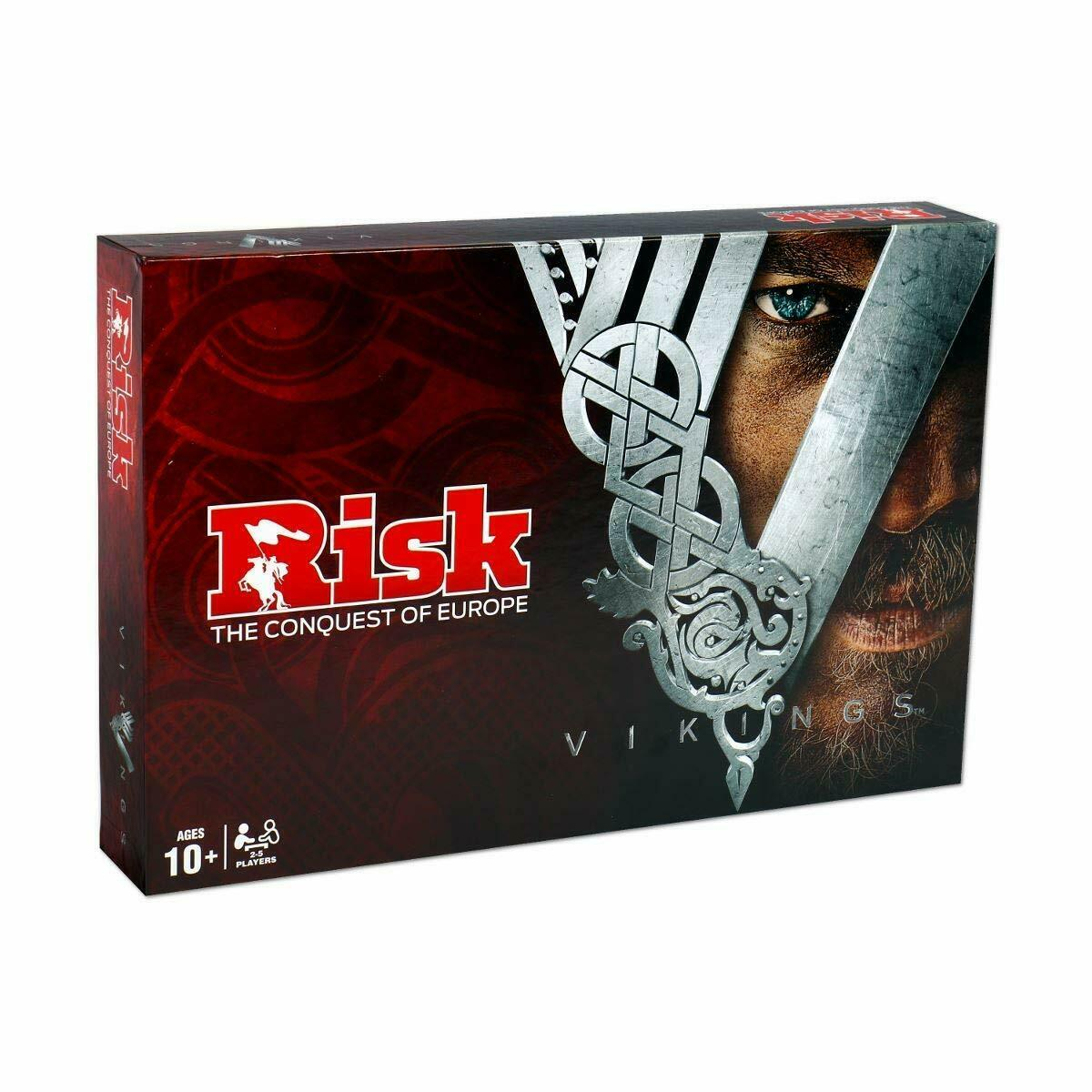 Risk Risk Vikings Englisch English Party Game Board Game Board Game
