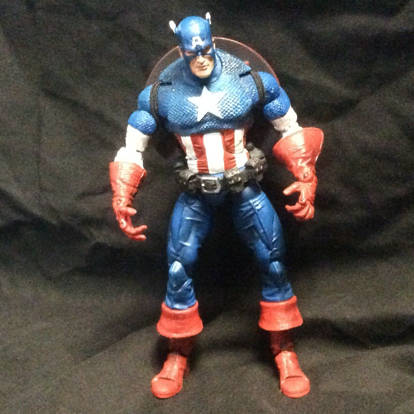 Captain America Marvel Legends Face Off Action Figure Rare