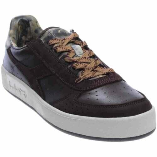Diadora B.Elite Foliage Sneakers Casual Mens Maroon