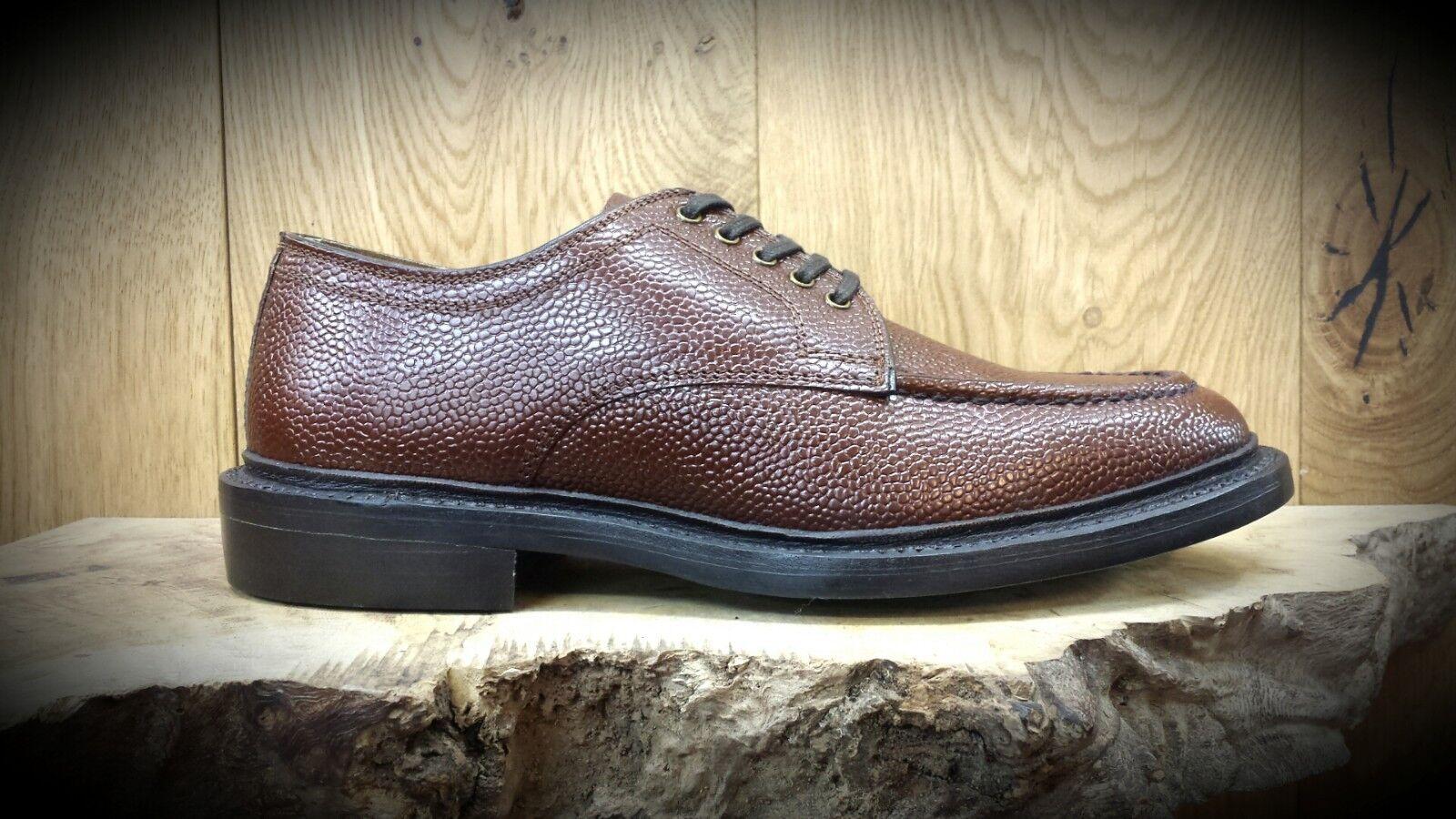 G. H. Bass & Co Monogramm Handgefertigt Gentlemans Schuhe VERMINDERT