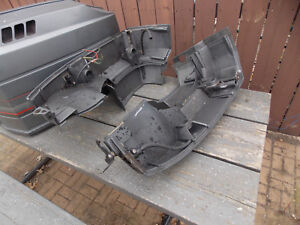 Details about Mercury Mariner Outboard 175 HP 2 Stroke Lower Cowl Bottom  engine Motor Covers