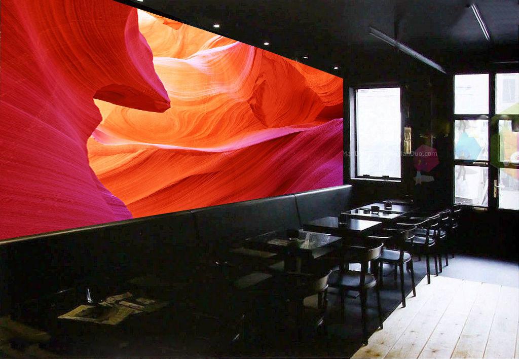 3D 3D 3D Farbigen Antelope Canyon 7 Tapete Wandgemälde Tapete Tapeten Bild Familie DE | Moderne Technologie  | Ästhetisches Aussehen  |  8d71f3