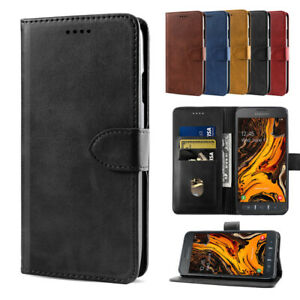 For-Samsung-Galaxy-Xcover-4s-X-Cover-4-Slim-PU-Leather-Flip-Wallet-Case-Cover