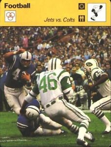 1977 NEW YORK JETS Yearbook RICHARD TODD Leroy NEIMAN artwork Cover WALT MICHAEL