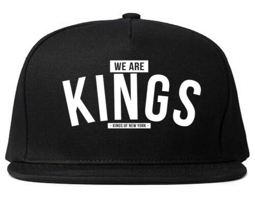 Kings OF NEW YORK siamo RE grafico stampato taglia unica snapback hat cap NEW YORK NEW YORK CITY