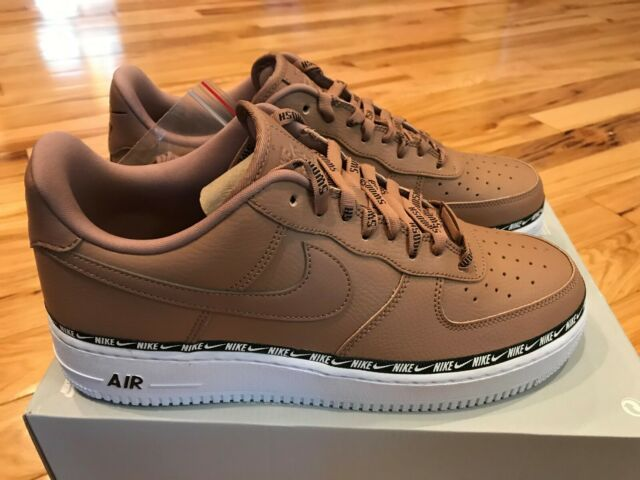 Nike Women's Air Force 1 07 SE PRM Ribbon Pack Desert Dust AH6827 201 Size 12