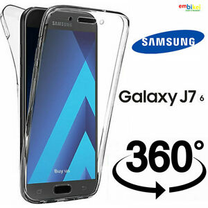 low priced d654b 1512e Custodia 360 Samsung GALAXY J7 2016 Cover Fronte Retro 360° Full ...