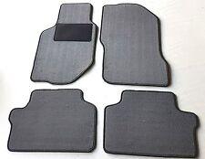 Passform-Velours-Fußmatten für Volvo 940/960 Baujahr 1990-94 Autoteppiche grau