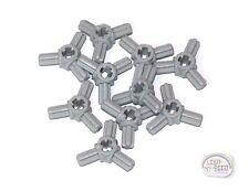 2x Axle pin connector triple star brown f//dark brown 10288 NEW Lego technic