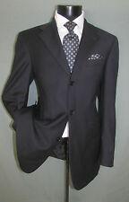 superb Ted baker Three Buttons Side Vents Charcoal Stripes Men Jacket 40 L