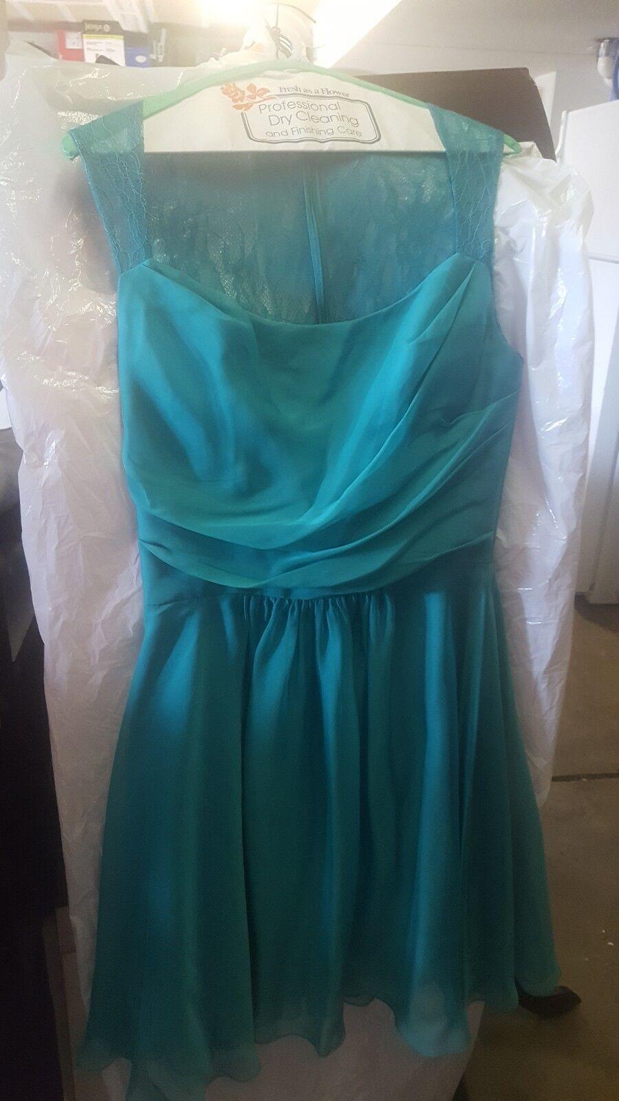 Homecoming dress size 12 Seafoam green