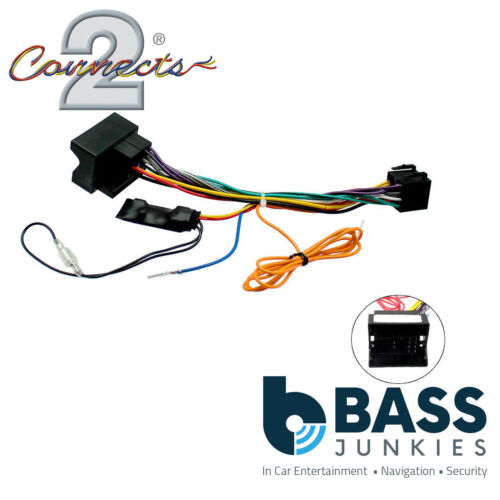 Connects2 CTHUE-PE2 Stereo Wiring ISO Adaptor Lead for Peugeot Cars