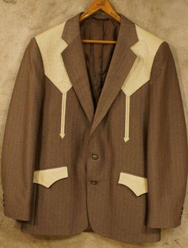 Vintage Mesquite Niver Western Wear 42R Suit Jack… - image 1