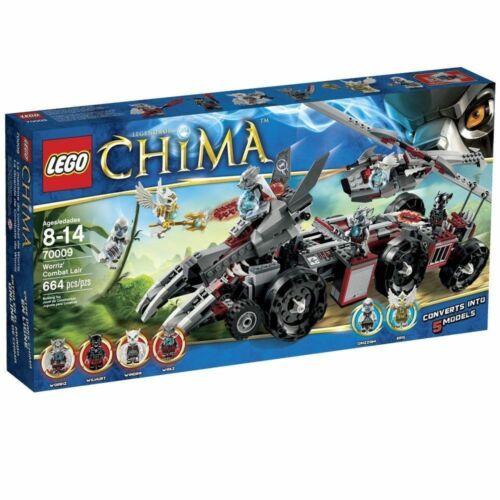 LEGO 70009 Chima Worriz Combat Lair vehicle NISB HOU TX