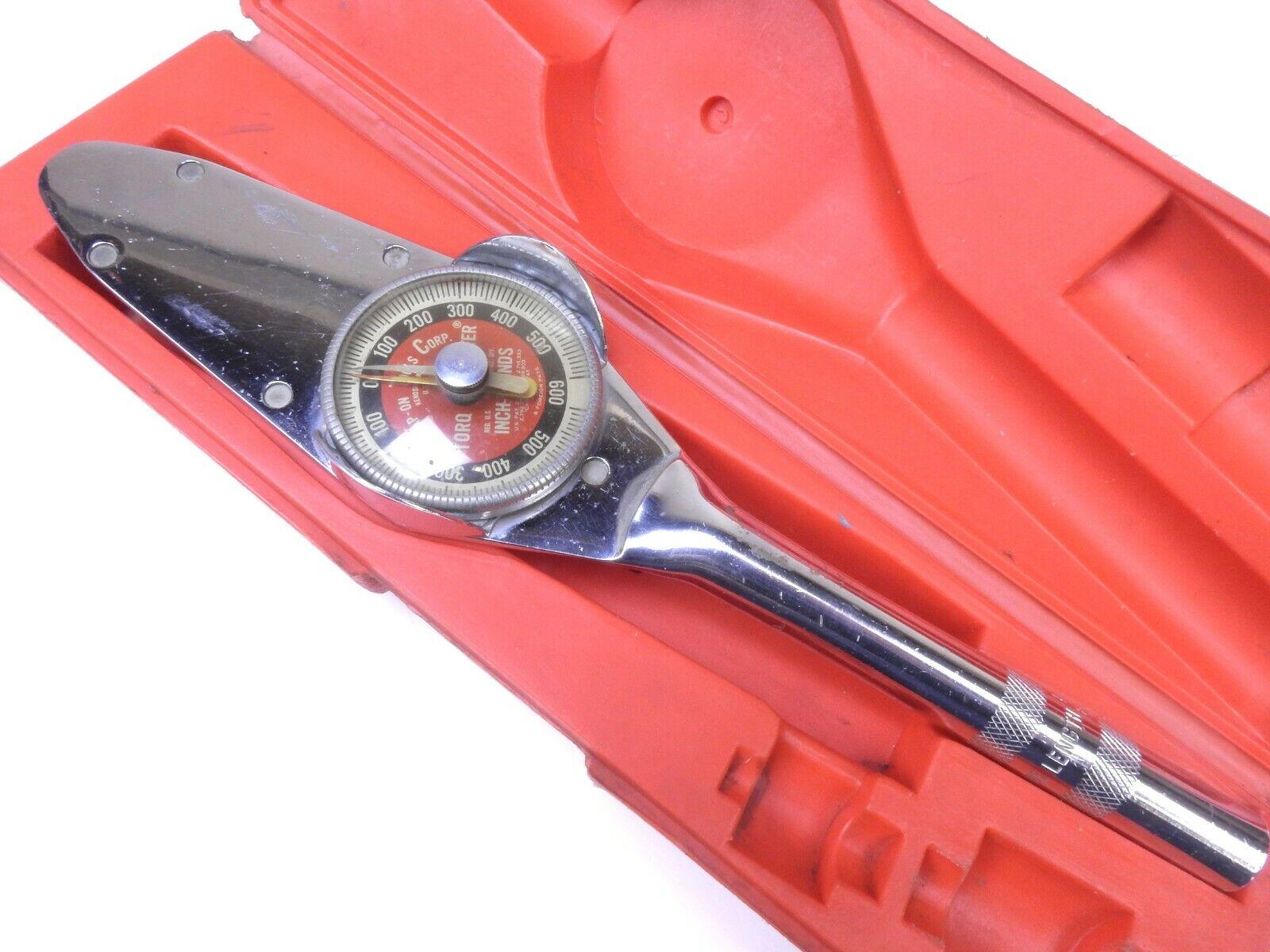 Snap On TE 50-FUA Torqometer