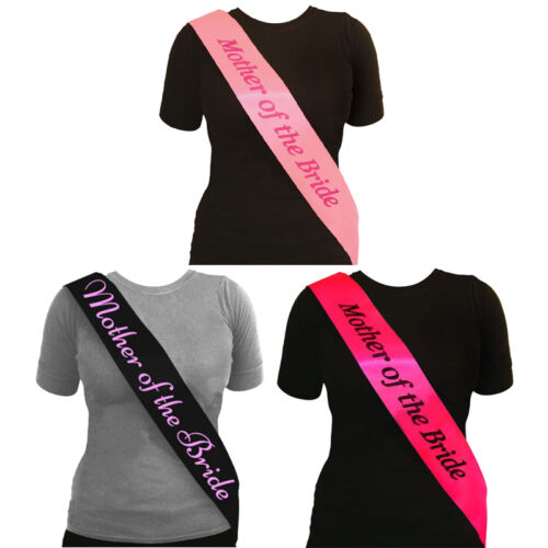 Hen Party Sashes Fancy Dress Bride Sash Ladies Night Out Do Girls Accessories UK