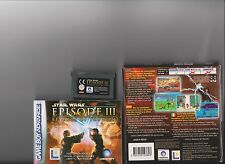 STAR WARS 3 REVENGE OF THE SITH GAMEBOY ADVANCE / GBA /  DS