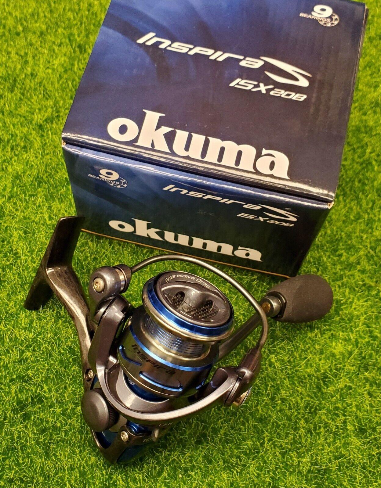 Blue Okuma ISX-20B Inspira Spinning Reel Size 20