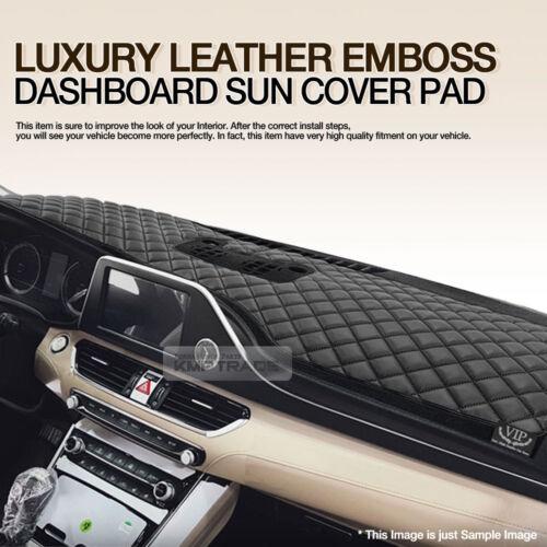 Luxury VIP Leather Dashboard Sun Cover Pad for HYUNDAI 2013-2018 Santa Fe DM