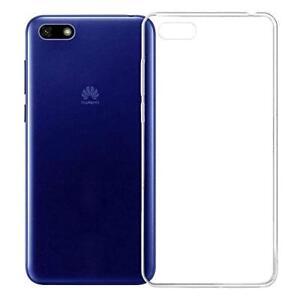Pour Huawei Honor Y5 2018  Coque Gel En Silicone Transparent Arrière Ultraslim