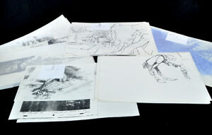 Signed-Rescuers-Down-Under-Model-Character-Sheets-Walt-Disney-Production-Sketch