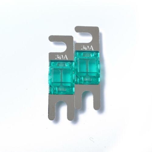 5 Pieces 30A Mini ANL Bolt Fork Fuse Kit Car Audio Circuit Protector Breaker