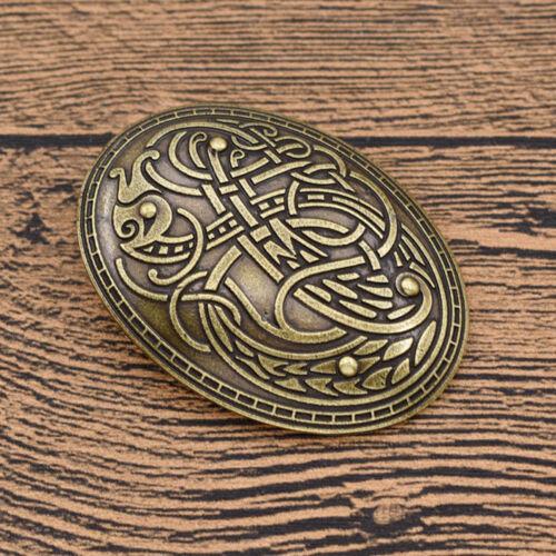 Norse Nordic Viking Amulet Brooch Pin Shirt Lapel  Charms Men/'s Fashion