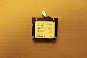 Carlingswitch Circuit Breaker Model # AK1-B0-12-630-221-D