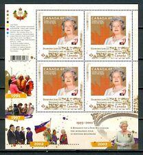 Canada #2517i Mini Pane of 4 Queen Elizabeth II Diamond Jubilee (1993-2002) MNH