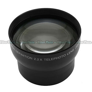 Pro 72mm 2.0X Telephoto Tele Lens For Any 72mm Thread//Filter size