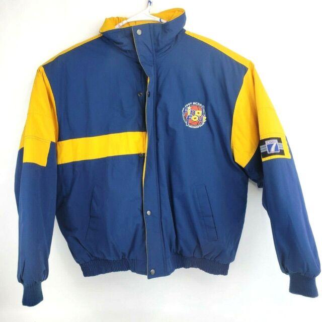 Vintage 90s Champion Brand NCAA Final Four Indianapolis 1997 Full Zip Windbreaker Jacket Arizona Wildcats Kentucky Minnesota North Carolina