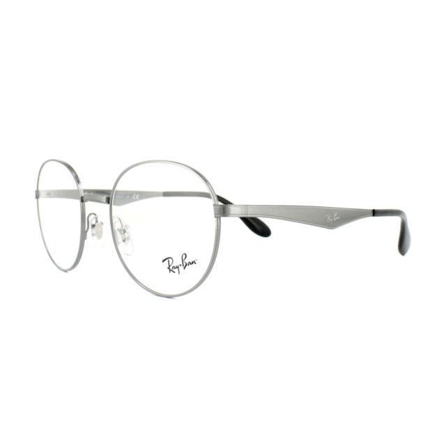 1752812b98 New Ray Ban Frames Titanium RETRO Round RX Eyeglasses ORX6343 2595 47-19-140