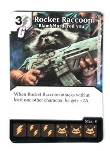Dice Masters Rocket Raccoon Dice x3