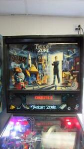 Twilight-Zone-Pinball-Machine-bally-Arcade-Machine-Nice-Free-Ship-Led-Bulb-Kit