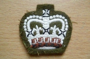 Patches-Warrant-Officer-Rank-Patch-NEW-apx-3-5x4-cm